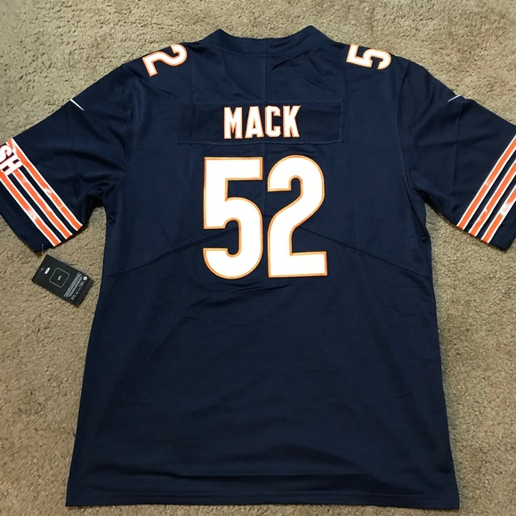wholesale dealer 2e5b2 0237d Chicago Bears Khalil Mack Jersey Men's Stitched NWT
